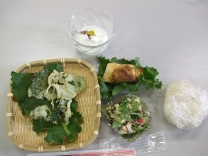 150329 (レポート)体験教室「身近な野草の食べ方教室」