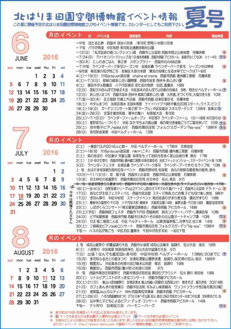見てみてガイド&イベントカレンダー夏号