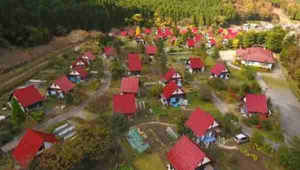 滞在型市民農園フロイデン八千代空撮