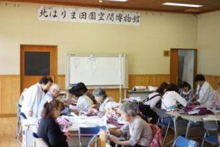 170521【レポート】体験教室 播州織の布ぞうりづくり