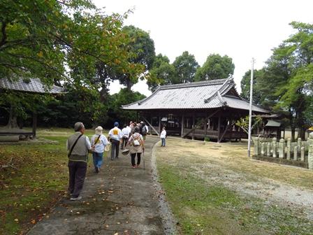 170924 【レポート】日本一長い散歩道を歩こう「曼殊沙華と比延の歴史を訪ねて」