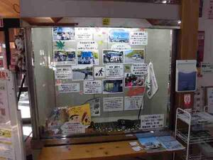 12月のショーケース展示:西脇観光バス