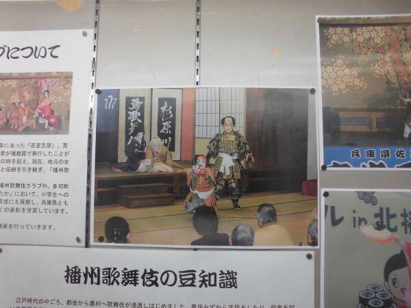 1月のショーケース展示:播州歌舞伎