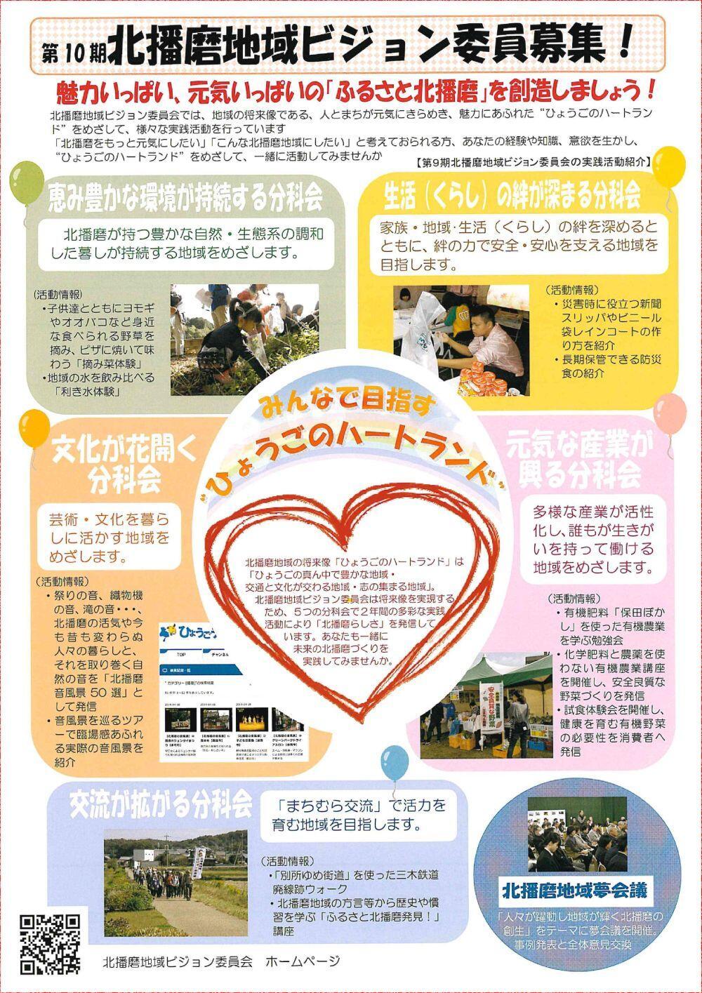 北播磨地域ビジョン委員募集!:北播磨県民局