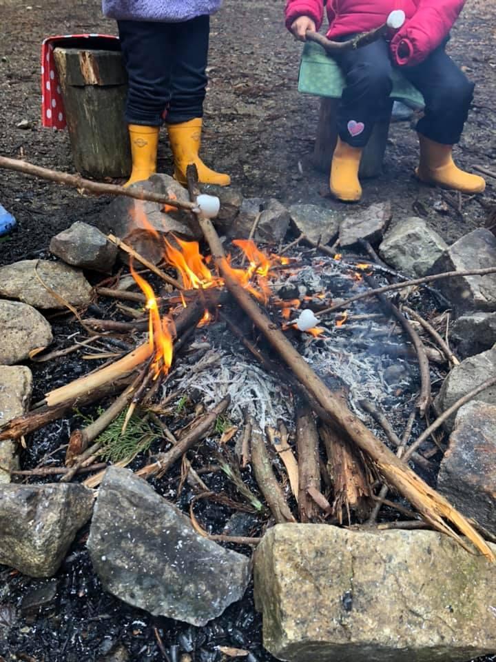 3/15 焚き火カフェ:森のようちえんこころね