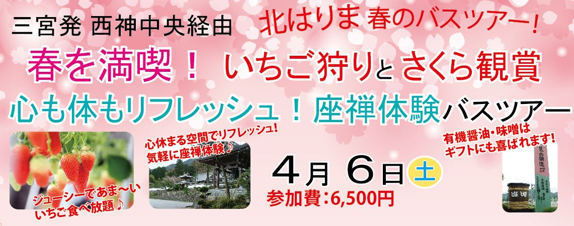 4/6桜バスツアー(2/23)